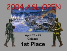 2004 Open Certificate 1st